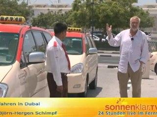 Tipp Taxifahren in Dubai O-Ton Björn