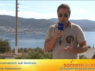 Tipp Panoramablick auf Bodrum O-Ton Kai