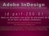 id-perf-200-01 - Grille de placement blocs et modèle template - InDesign - HD - Thierry Dambermont