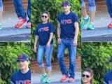 Celebrity Bytes: Ashton Kutcher and Mila Kunis Wear Matching T-shirts on Romantic Outing