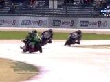 Impressionnante chute de Victor Cox en British Superbike à Assen 2012