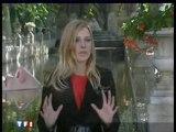 Elodie au JT  de TF1...