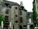 La ville de Salers, Cantal, Auvergne, septembre 2012