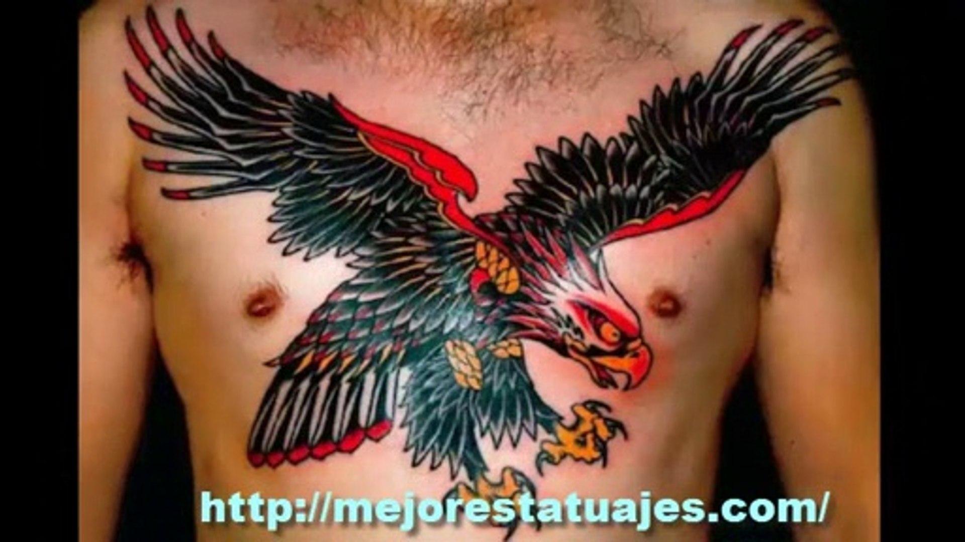 Aguila En La Espalda los mejores tatuajes de aguilas en la espalda y pecho