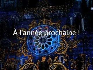 Fête de la Lumière 2012 à Chartres: les meilleurs moments.