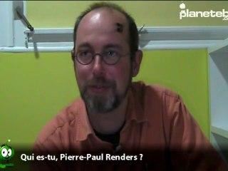 Vidéo de Pierre-Paul Renders