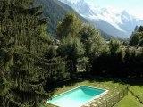 Argentière appartement T4 4 pièces 3 chambres piscine vue mont blanc proche pistes