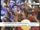 Capriles: ¿Cómo nos pueden hablar de independencia en un país donde matan 50 venezolanos todos los días?