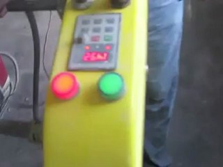 Concrete Polishing Machine Demonstration with XPS Genie