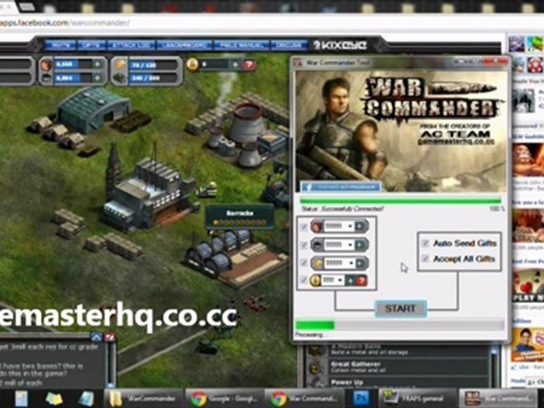 War Commander Hack 2012 | Download War Commander Hack Today! | Updated plus Proof!