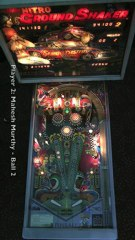 NITRO GROUND SHAKER pinball table (Bally 1980) - Pinburgh 2012 B Division Final (Game 4)