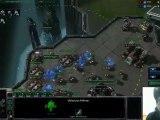 Dragon s'éclate et éclate avec les mines - Starcraft 2