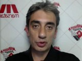 Dro Kilndjian, programmateur de Marsatac, dans le vidéomaton - 27/09/12 Dock des Suds (Marseille)