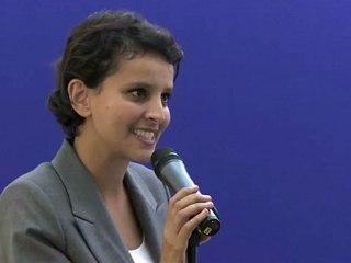 Najat Vallaud-Belkacem reçoit Darina Al Joundi