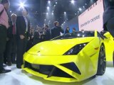 New Lamborghini Gallardo LP 560-4 at 2012 Paris Motorshow