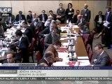 Audition de Pierre Moscovici et Jérôme Cahuzac devant la Commission des Finances