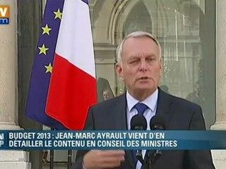 """Ayrault : """"un budget de cons"""" / Mash-Up Parodie / Systaime"""