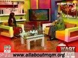 WAQT Salam Pakistan: Famous personality MQM Khushbakht Shujaat