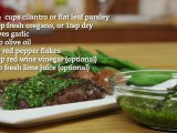 Chimichurri Sauce Recipe (great on steaks)