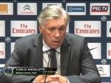 7e journée - Ancelotti : ''Gameiro titulaire''