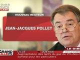 Jean-Jacques Pollet, nouveau recteur de Lille