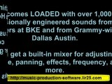 studio music recording software - software for making music - beats machine