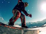Winter 4 Days In Alpes d'Huez Mars 2012 GoPro HD2 (BlackStunt Prod)