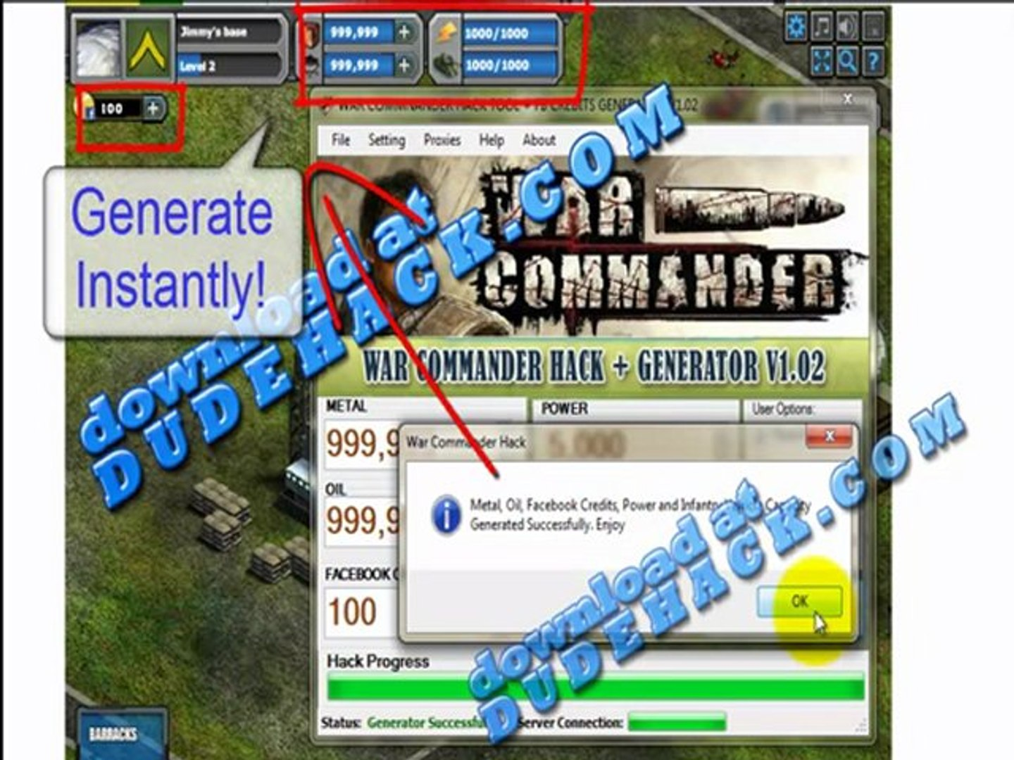 War Commander Cheat Engine Hack (With Proof War Commander Cheat Engine )