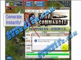 War Commander Cheat (Best War Commander FB Credits Cheats 2012) War Commander Cheats V.1.3