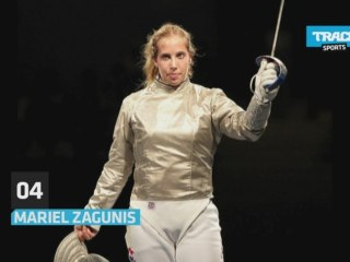 Top Female: The fencing champions