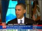 Obama unveils $3.83 trillion budget with massive deficits