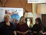 Interview de Charlotte de Turckheim, Catherine Hosmalin et Lola Dewaere : Mince alors !