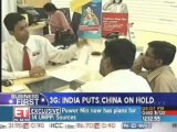 3G: India puts Chinese companies on hold