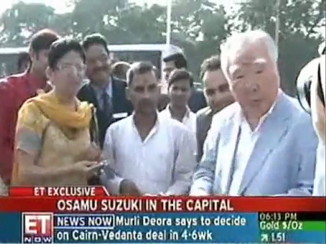 Exclusive: Suzuki Chairman Osamu Suzuki in capital