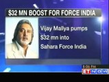 Vijay Mallya pumps in 32 mn for Sahara Force India