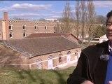 Renzo Piano, en printemps, à la Citadelle d'Amiens. Reportage France 3 Picardie