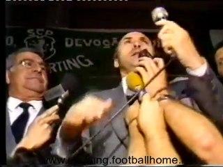 Reportagem eleições no Sporting no Verão de 1989