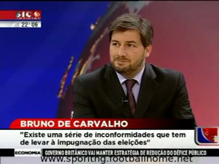 Entrevista de Bruno Carvalho no dia a seguir às eleições de 26 de Março de 2011