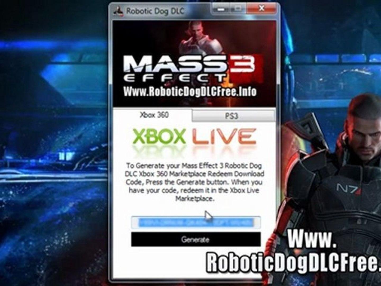 Mass Effect 3 Robotic Dog DLC Free Download