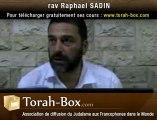 Le Don De La Torah Et Le Secret Du Temps Des Semaines - rav Raphaël SADIN (Torah-Box.com)