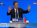 Revoir le discours de Nicolas Dupont-Aignan