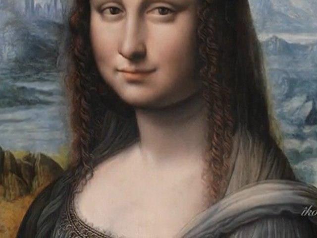 Mona Lisa meets La Gioconda