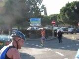 Préparation ironman Nice 2012 : Duathlon Carcassonne 2012