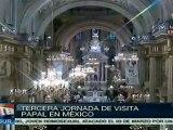 El pueblo mexicano tenía gran expectativa ante visita papal