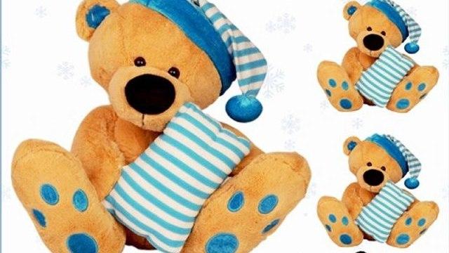 Archies Bear WPillow & Hat(25Cm) (S.Toy) Video - Babyoye.com