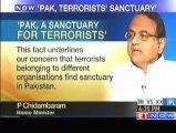 On Osama Bin Laden death - Pakistan terrorists sanctuary - P Chidambaram