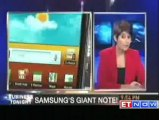 Samsung launches Galaxy Note in India