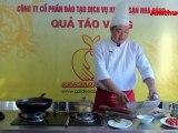 Cá diêu hồng chiên sốt trứng muối (Vào bếp cùng Sao - số 40) - tapchiamthuc.vn