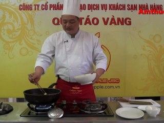 Tôm chiên trứng muối (Vào bếp cùng Sao - số 52) - tapchiamthuc.vn - amthuc.tv