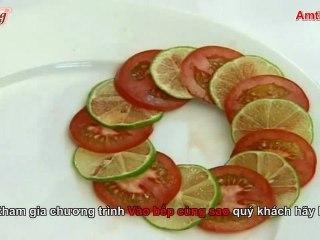 Hướng dẫn trang trí vành đĩa (Vào bếp cùng sao - Số 18) - amthuc.tv - tapchiamthuc.vn